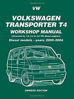 vw t4 transporter diesel 90 june 03 haynes repair manual amazon rh amazon co uk VW Transporter T5 repair manual vw transporter t4