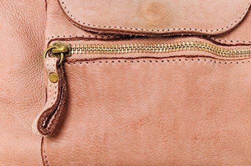 Donna Donna Spalla Ragazza da antico Bag Ira Tracolla Grande Valle Small Made Vintage Modello e Italy Vera Borsa a In Pelle Rosa Miami con Borsa in del Mano ggS4qRwxt
