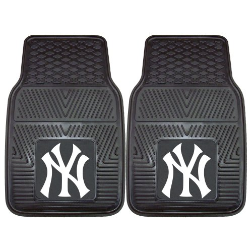 FANMATS MLB New York Yankees Vinyl Heavy Duty Car Mat from FANMATS