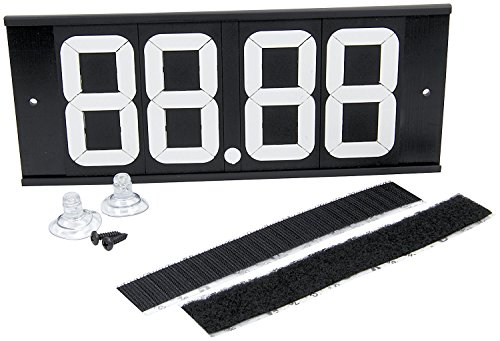 Allstar Performance ALL23293 Dial-in Board 4 Digit w/Suction Cups and Velcro