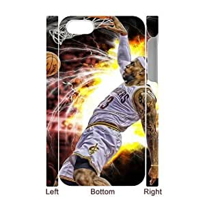 LeBron James TY0095651 3D Art Print Design Phone Back Case Customized Hard Shell Protection Iphone 4,4S