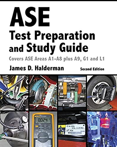 ase test prep and study guide 2nd edition automotive rh amazon com ASE Certification Study Guides ase a9 study guide free
