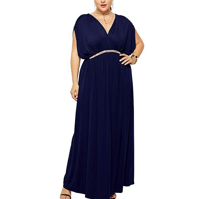 best website 78340 1f398 Lover-Beauty Abendkleid Große Größen Kleider A Linie Cocktailkleid Elegant  für Hochzeit Übergröße Partykleider Maxi Lang