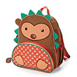 "Zoo Insulated Toddler Backpack Hudson Hedgehog, 12"" School Bag,"