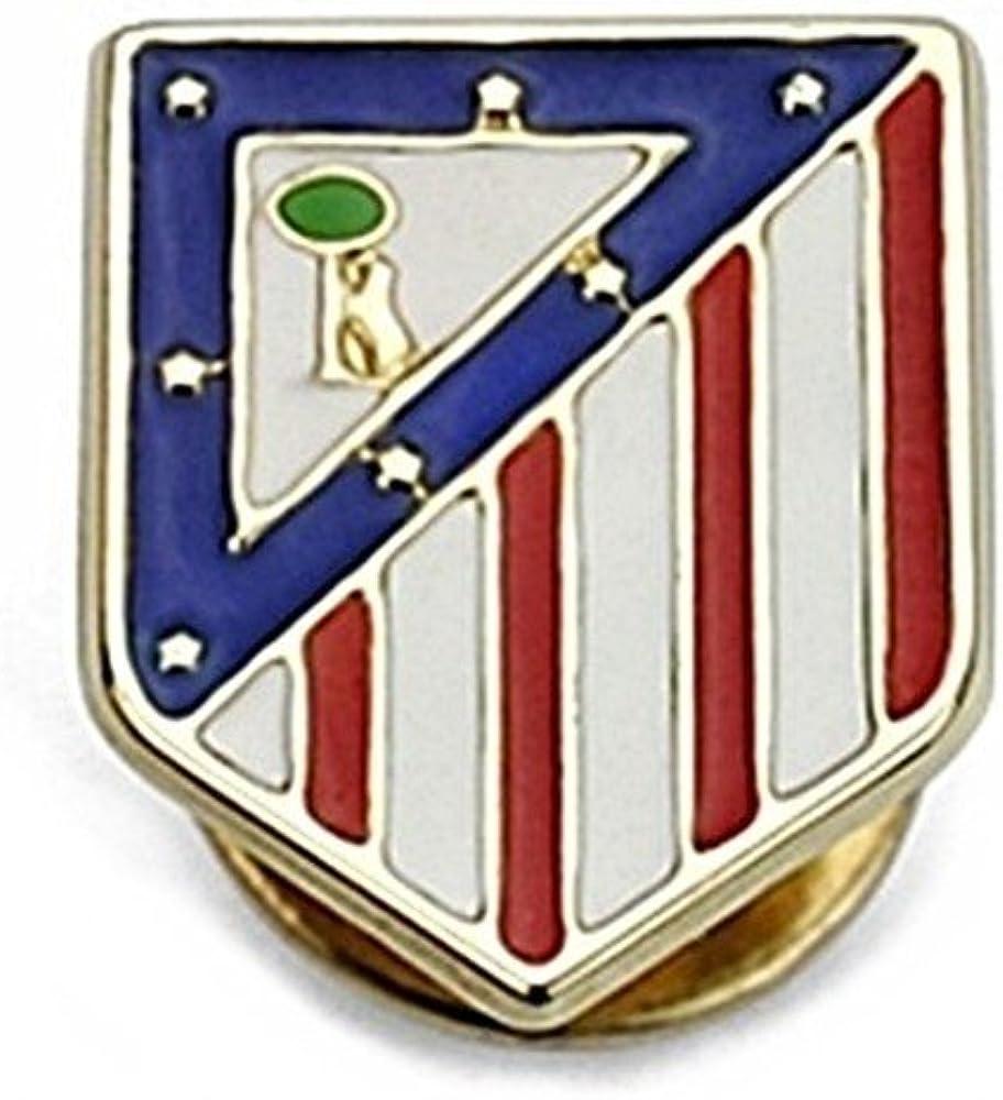 Pin escudo Atlético de Madrid oro de ley 18k 16mm. [6975] - Modelo ...