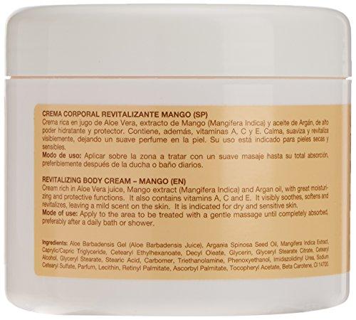 Argan-Aloe 70050 - Crema corporal revitalizante con mango: Amazon.es: Belleza