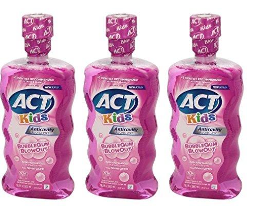 ACT Anticavity Fluoride Bubblegum Blowout