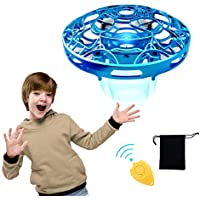 Pickwoo P10 Hands-Free Mini Drone Helicopter with LED Light (Blue)