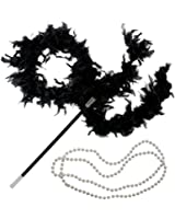 Flapper Costume - 1920s Womens Fashion Accessories Dress Up by Funny Party Hats®