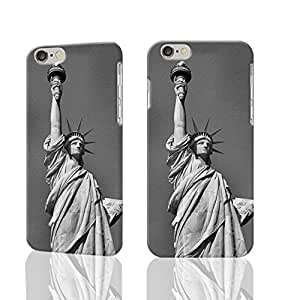 Statue Of Liberty In Black And White 3D Durable Hard Unique Case For iPhone 5C