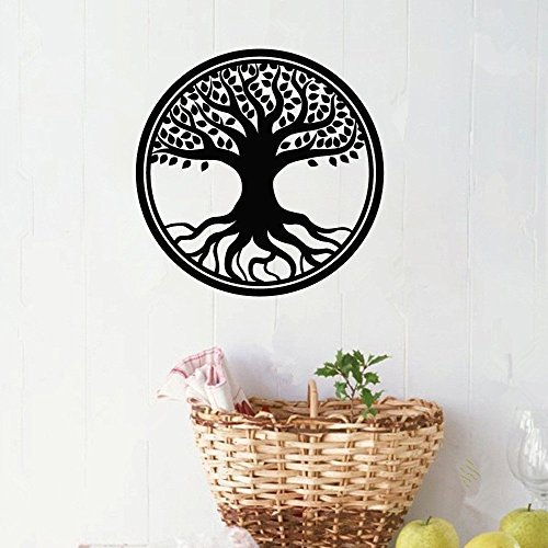 eriut Wall Sticker Quote Wall Decal Funny Wallpaper Removable Vinyl Decorative Tree ()