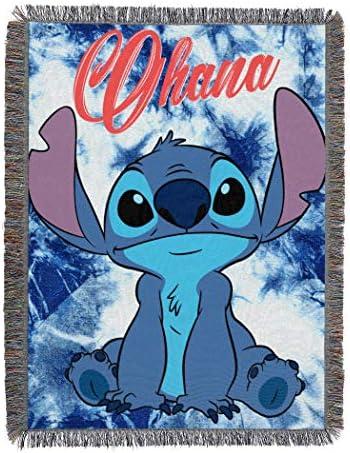 Disneys Stitch Shibori Tapestry Blanket product image