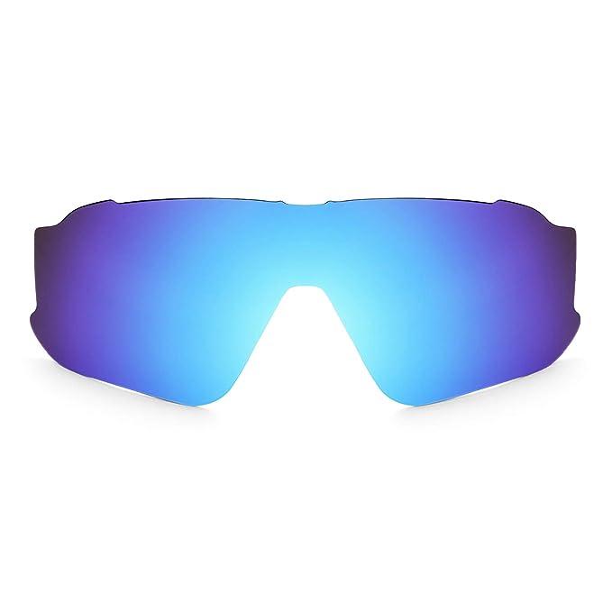 b4439a4540 Lentes de Repuesto Polarizadas Revant para Oakley Jawbreaker Azul Hielo  MirrorShield®: Amazon.es: Ropa y accesorios