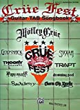 img - for Crue Fest: Guitar TAB Songbook (Authentic Guitar Tab Edition) book / textbook / text book