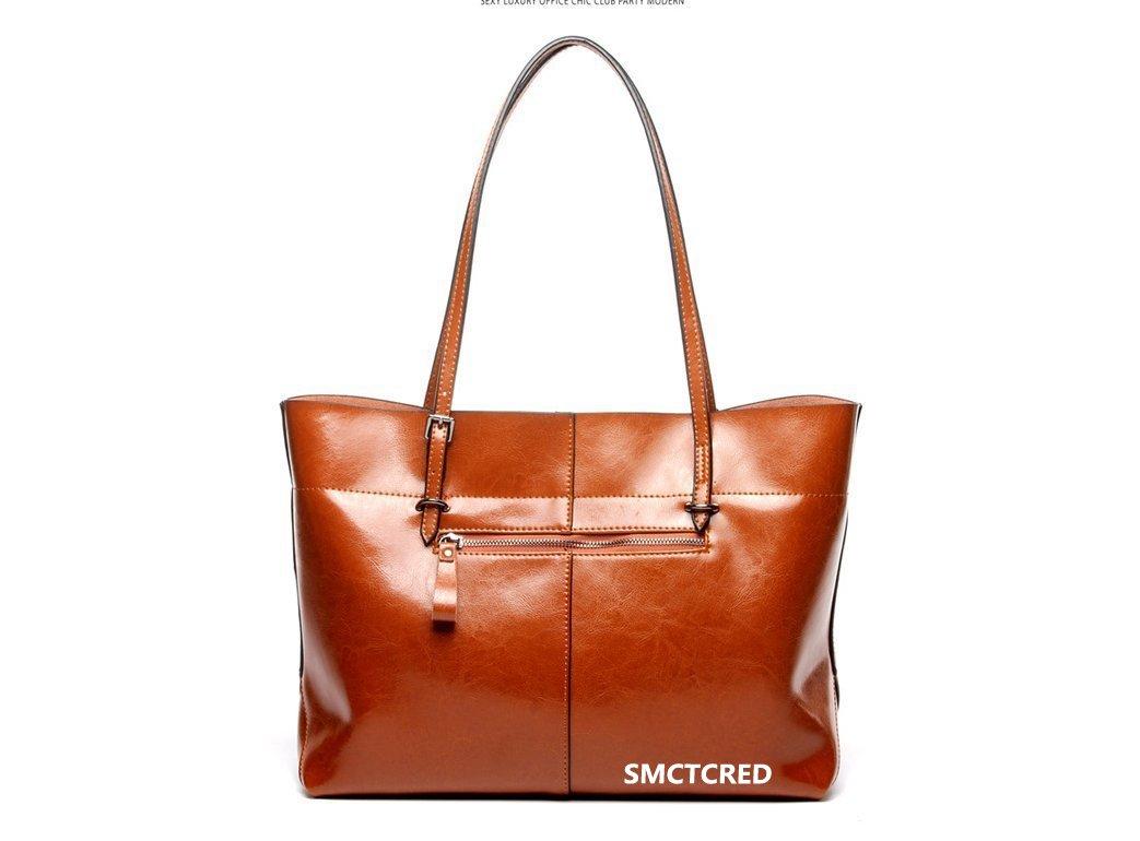 Vintage Fashion cuir PU en cuir ncient façons Huile Cire Véritable Sac en cuir souple sac à bandoulière sac en cuir Sacoche Sac à main Sac à main Sac à main Sacs Sac, tablette, iPad (Orange) SMCTCRED BAGD-O05