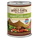 Merrick Whole Earth Farms Grain Free Hearty Stew Canned Dog Food, 12.7 oz, Case of 12