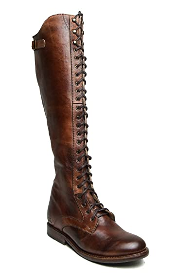 Bed|Stu Women's Della Leather Boot (6 B(M) US, Teak