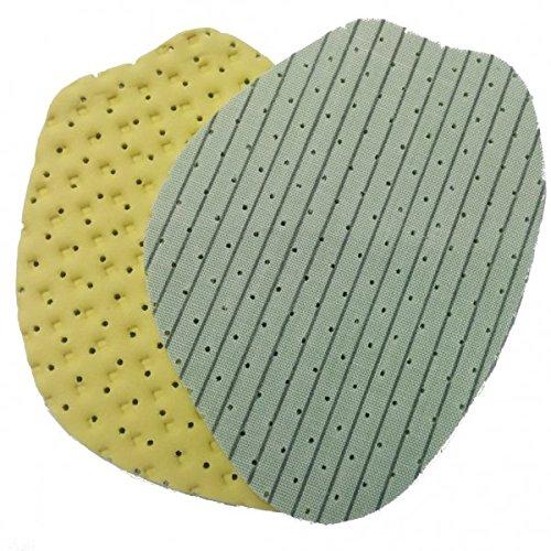 Mejora Resbalones Verde Agarre String Zapatos Verde Los Espuma amarillo Y El Plantilla Para Media Reduce De Shoe Olor w06qwB