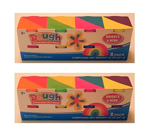 doughs-8-tubs-of-childrens-modeling-dough-2-pack-for-16-tubs-for-sharing