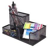 MyLifeUNIT Desk Organizer, Desktop Storage Box, Black