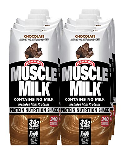CytoSport Muscle Milk RTD - Chocolate - 17oz - 6 bottles