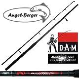 DAM Spinnrute Steckrute Angel Berger Custom Edition in verschiedenen Längen (1.80m)