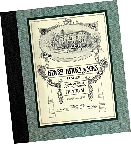 (CATALOGUE: 1914 Henry Birks and Sons Catalogue of Fine Jewelry and Decorative Gifts Mfr: Henry Birks and Sons Limited, Montreal Canada (REPLICA PICTORIAL, trade samples catalog of fine jewelry and gifts made in Canada, diamonds, early 20th century gems and precious metals))