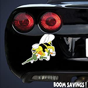 "US Navy Seabee () 6"" Magnet from BoomSavings"