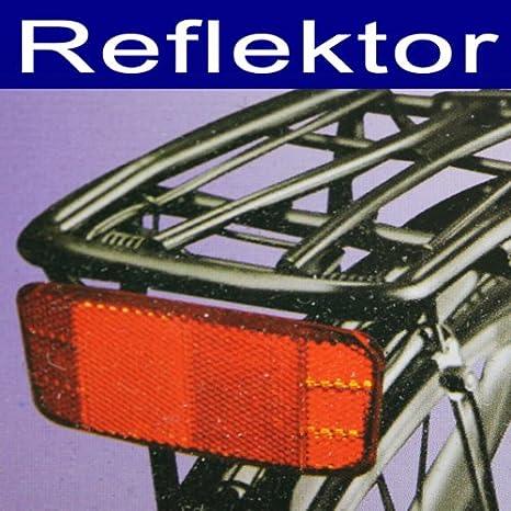 Reflector, bicicleta – Portaequipajes Trasera Foco Reflector ...