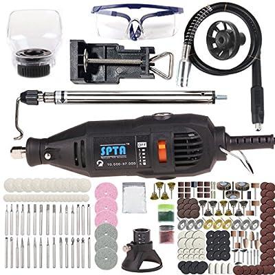 SPTA Rotary Tool Accessory Set - Fits Dremel Tools- Grinding,Sanding,Polishing