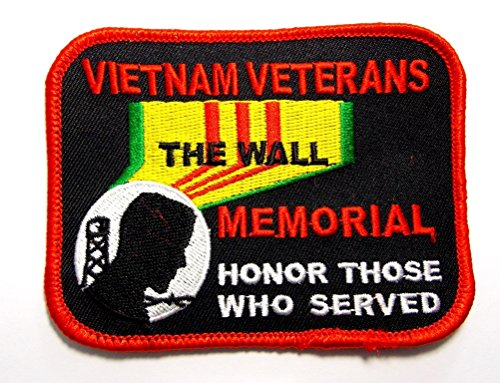 Vietnam Veterans Memorial The Wall Military Embroidered Patch Iron Sew PWPM5056