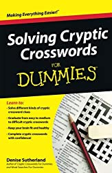 Image of the product Solving Cryptic that is listed on the catalogue brand of Brand: For Dummies.