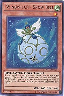 "One Card ONLY! SECRET RARE SHVA YuGiOh: /""Windwitch Ice Bell/"""