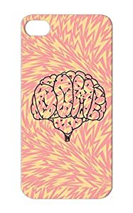 Art Design New Age Black TPU For Iphone 5 DOM Brain Protective Case