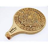 Portable Travel Didgeridoo - Aztec Calendar - Laser Engraved - Beautiful Sacred Geometry, Professionals and Beginners