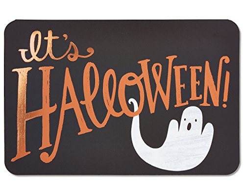 American Greetings Ghost Halloween Card with Foil, 6-Count]()