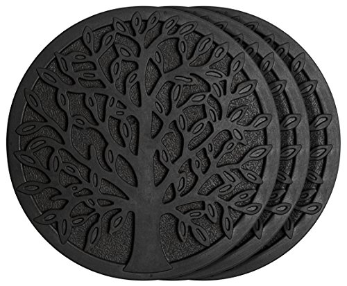 HF by LT Rubber Tree Garden Stepping Stone, 11-3/4