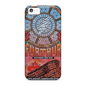 Bumper Cell-phone Hard Covers For iphone 5s (TYD3484ZUcj) Custom Colorful Grateful Dead Pattern