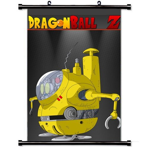 Home Decor Trendy Handsome Anime Art Cosplay Poster with Robot Capsule C Dragon Ball Z Anime Wall Scroll Poster Fabric Painting 24 X 36 Inch (60cm X 90 cm) (Cute Z Cute Robot compare prices)