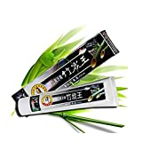 Kuulee 100% Natural Active Whitening Charcoal Toothpaste Black Bamboo Charcoal Toothpaste Oral Hygiene Teeth Care 160g (1 Pack)