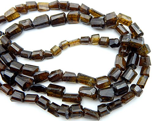 JP_BEADS Chrome Tourmaline-Gorgeous Clean Faceted Nugget Beads Tumble Shape Size 14x8.mm 7