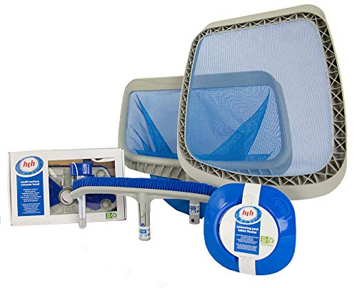 HTH Deluxe Maintenance Pool Cleaning Kit | Perfect
