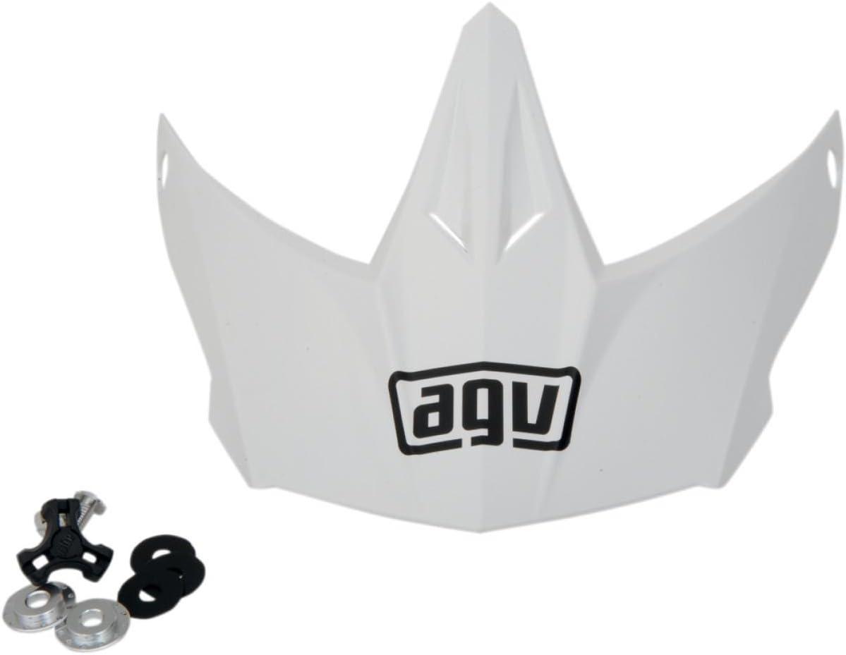 AGV Helmet Visor for AX-8 Dual Sport EVO White KIT76109001