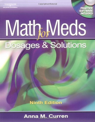 Math for Meds: Dosage and Solutions