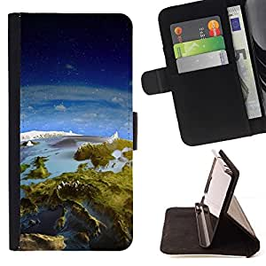 DEVIL CASE - FOR LG G3 - Space Planet Galaxy Stars 31 - Style PU Leather Case Wallet Flip Stand Flap Closure Cover