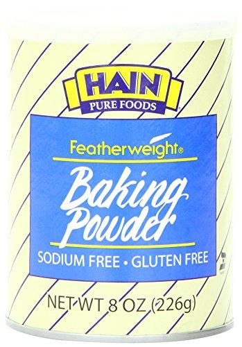 Hain Pure Foods Featherweight Baking Powder, 8 (Free Baking Powder)