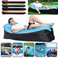 Bag,Sofa, Quick inflatable sofa / bed / boat Leisure sleeping bags Camping bed By Ikevan Double-Inlet Blow Up Sofa