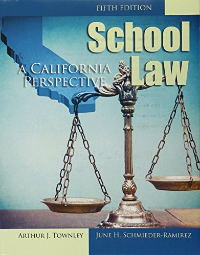 School Law: A California Perspective