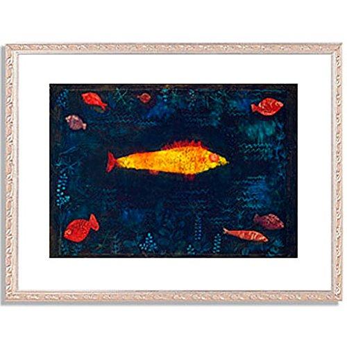 パウルクレー 「金色の魚 The Golden Fish. 1925 」 インテリア アート 絵画 壁掛け アートポスターフレーム:装飾(銀) サイズ:M(306mm X 397mm) B00PB7EF6C 2.M (306mm X 397mm) 5.フレーム:装飾(銀) 5.フレーム:装飾(銀) 2.M (306mm X 397mm)