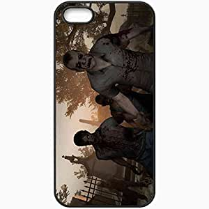 Personalized iPhone 5 5S Cell phone Case/Cover Skin Left 4 Dead 2 Black